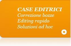 Soluzioni per case editrici. Correzioni bozze, editing e soluzioni ad hoc